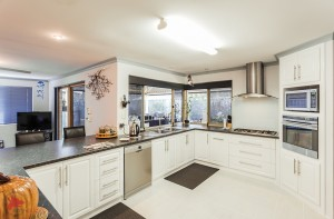 Kitchen updated following Feng Shui